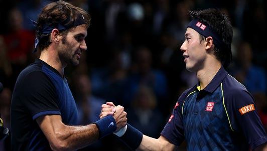TRỰC TIẾP Federer - Nishikori: Lợi thế cho huyền thoại