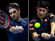 "Chi tiết Federer - Nishikori:  "" Samurai ""  gục ngã (KT)"