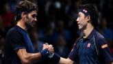 """TRỰC TIẾP Federer - Nishikori: """"Tàu tốc hành"""" vượt lên"""
