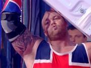 """Thể thao - Siêu lực sĩ: """"Thần Thor"""" bị """"Gấu lớn"""" đánh bại"""