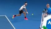 Chỉ có thể là Federer: Trái 1 tay né lưới tuyệt đỉnh