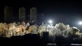 Video: TQ phá hủy 19 tòa nhà cao tầng trong tích tắc