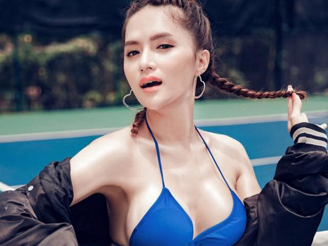Khó rời mắt bởi vẻ cực bốc lửa đời thường của Hương Giang Idol