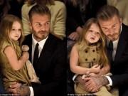 """"""" Bà hoàng nhí """"  sang chảnh của siêu sao David Beckham"""