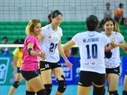 Thể thao - Bóng chuyền: Ngọc Hoa ghi điểm như máy ở Thái Lan