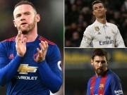 Rooney sánh ngang Ronaldo, Messi: MU có nên dựng tượng?