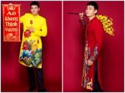 """Thời trang - """"Trai nhảy"""" Ngọc Thuận gợi ý quý anh mặc áo dài kiểu vest đón Tết"""