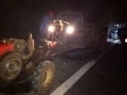 2 người đàn ông chạy xe máy chết thảm trên đường về quê ăn Tết