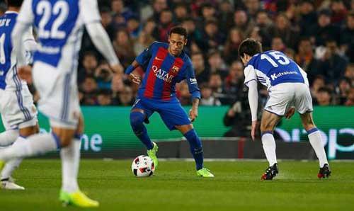 Barcelona – Sociedad: Mãn nhãn đại tiệc 7 bàn - 1
