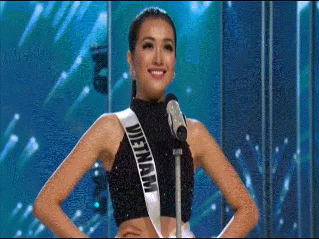 Lệ Hằng siêu ấn tượng, gây tranh cãi tại Miss Universe