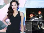 Đời sống Showbiz - Nhà Hoa hậu Diệu Linh bị thiêu rụi đúng ngày 30 Tết