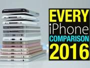 Thời trang Hi-tech - Video đọ tốc độ các đời Apple iPhone