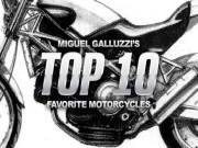 Top 10 mẫu mô tô yêu thích của Miguel Galluzzi