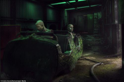 Khám phá nghĩa địa ma nơ canh bỏ hoang đáng sợ - 5