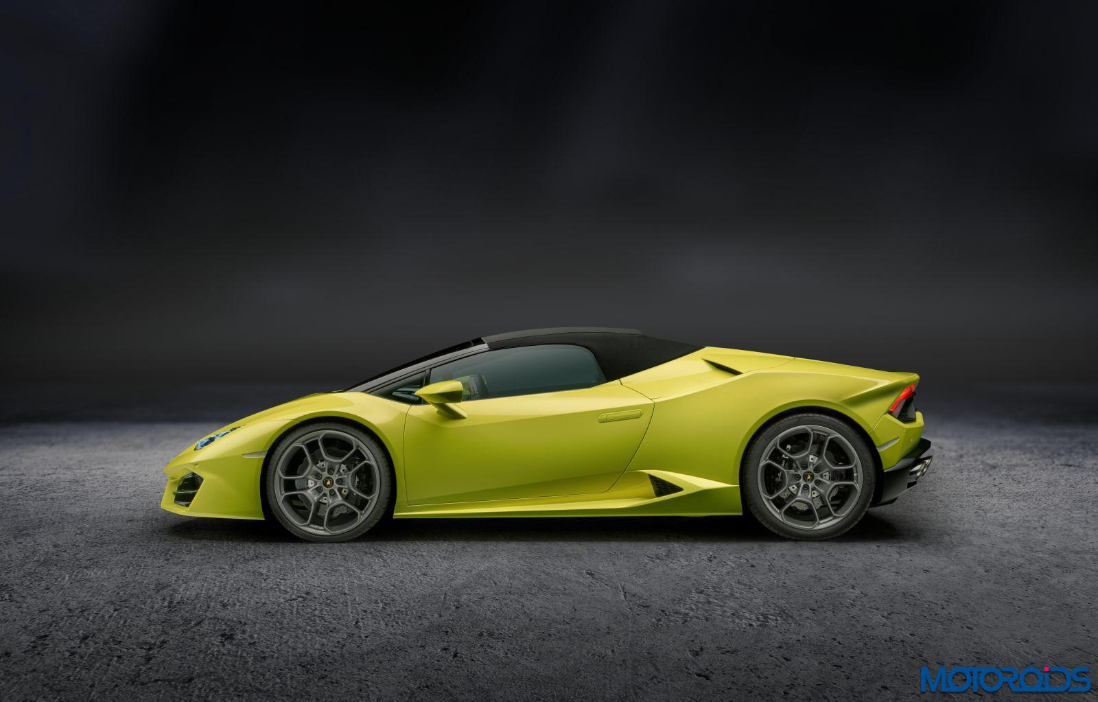 Lamborghini Huracan LP 580-2 Spyder RWD trước giờ ra mắt