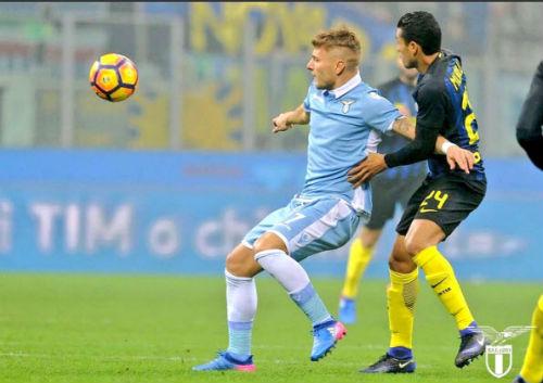 Inter Milan - Lazio: 3 bàn thắng, 2 thẻ đỏ - 1