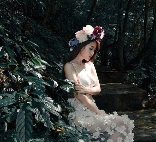 Thân hình nóng bỏng của người đẹp Tuyên Quang.