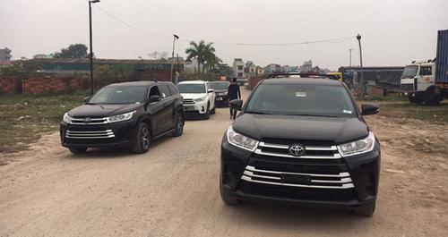Toyota Highlander 2017 về Việt Nam đối đầu Ford Explorer