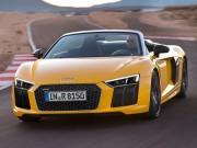 Tin tức ô tô - Siêu xe Audi R8 V10 Plus Spyder 2017 giá gần 4 tỷ đồng