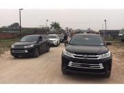 Tin tức ô tô - Toyota Highlander 2017 về Việt Nam đối đầu Ford Explorer