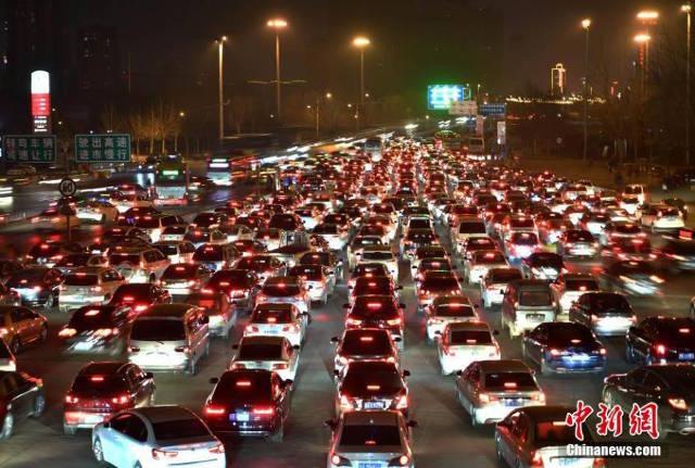 Ùn tắc kinh hoàng ở Trung Quốc sau Tết Nguyên đán - 4