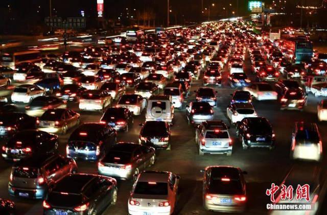 Ùn tắc kinh hoàng ở Trung Quốc sau Tết Nguyên đán - 2
