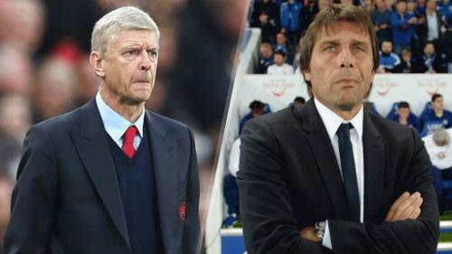 "Chelsea tái đấu Arsenal: Wenger ""hít khói"" Conte"
