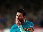 """Bóng đá - Barca hết """"gà nhà làm chủ"""" sau 3000 ngày: Messi gánh tất"""