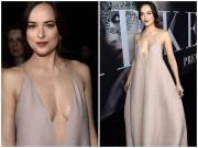 Thời trang - Kiều nữ '50 sắc thái' thả rông ngực sexy trên thảm đỏ