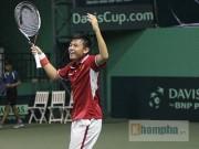 Hoàng Nam  cứu  tuyển Davis Cup: Cảm hứng trên khán đài