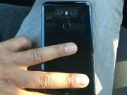Lộ ảnh mặt sau LG G6