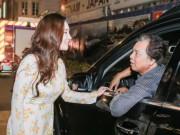 Ca nhạc - MTV - 37 tuổi, Hồ Quỳnh Hương vẫn được bố đưa đón đi diễn