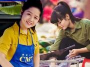 Bạn trẻ - Cuộc sống - 5 cô gái bán rau, bán thịt khiến dân mạng bấn loạn vì quá xinh đẹp