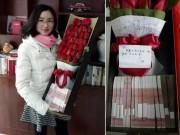 Bạn trẻ - Cuộc sống - Chưa 14/2, người chồng này đã gây bão với bó hoa 500 triệu tặng vợ