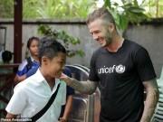 """Bóng đá - Beckham bị tố từ thiện giả, """"trò mèo"""" của truyền thông"""