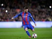 """Bóng đá - Messi """"vẽ cầu vồng"""", phá kỷ lục huyền thoại Barca"""