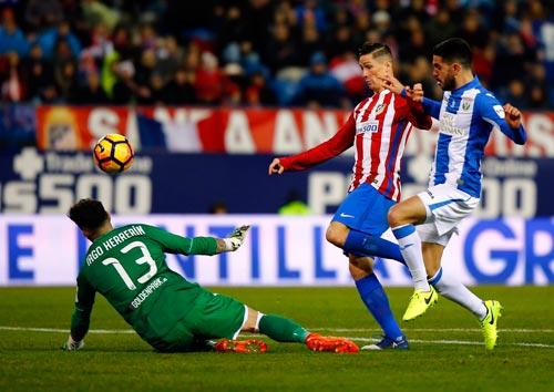 Atletico – Leganes: Người hùng Torres - 1