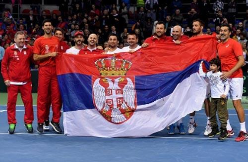 Tin thể thao 5/2: Djokovic vào tứ kết Davis Cup