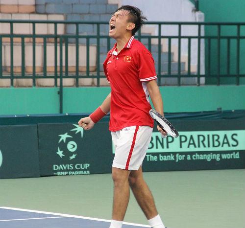 Davis Cup: Cánh én Hoàng Nam - 1