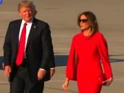 Thế giới - Màn nắm tay lạ của vợ chồng ông Trump dưới mắt chuyên gia