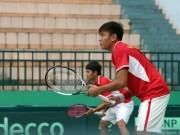 Thể thao - Davis Cup: Hoàng Nam, Hoàng Thiên kịch chiến 4 set