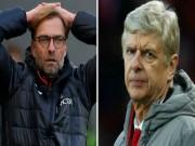 Bóng đá - Số phận Liverpool và Arsenal: Viễn cảnh trắng tay