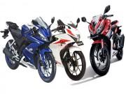 Thế giới xe - Mua Yamaha R15 V3, Suzuki GSX 150R hay Honda CBR150R?