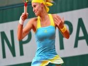 Thể thao - Tennis: Người đẹp so tài, tung đòn vi diệu