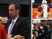 Thể thao - Tennis: Đánh bóng bầm mắt trọng tài, hại mình hại cả đội