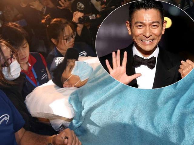 Sau tai nạn, Lưu Đức Hoa phải nằm một chỗ gần 1 năm