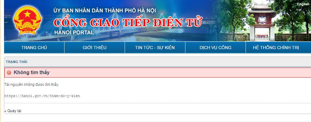 """HN dừng lấy ý kiến loa phường vì """"dấu hiệu bất thường"""""""