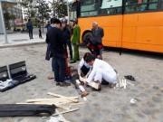 Tin tức trong ngày - Thùng phuy trang trí quán cafe phát nổ, thợ hàn gãy chân