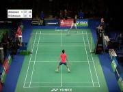 Thể thao - Hiếm có khó tìm: Pha cầu lông tuyệt đỉnh kung-fu