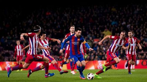"Barcelona - Atletico Madrid: 3 thẻ đỏ & ""mưa"" sai lầm - 1"